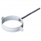 Хомут трубы металлический 1=160 мм