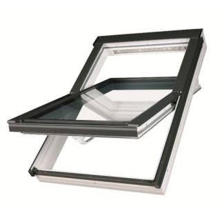 Мансардное окно PTP-V U4 из  ПВХ    66*  98