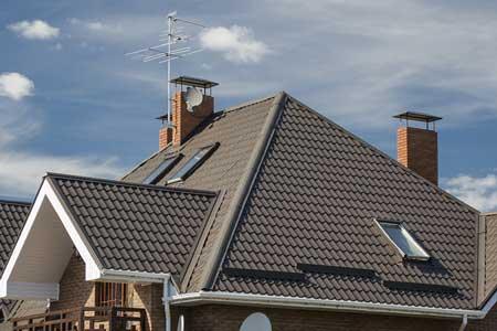 крыша с металлочерепицей Аликанте