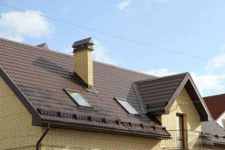 крыша с матовой металлочерепицей Аликанте