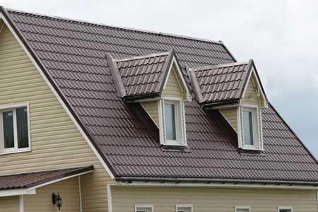крыша с металлочерепицей IMPERIA