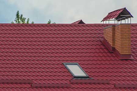 крыша с металлочерепицей VALENCIA