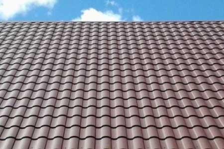 крыша с металлочерепицей Валенсия