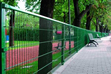 Забор кольчука от Крымпрофсталь